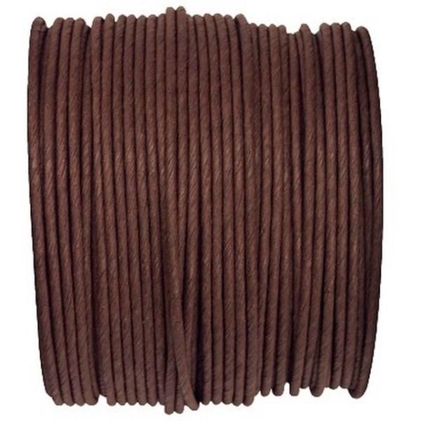 Paper Cord armé chocolat rouleau 20mètres - Photo n°1