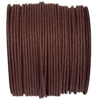 Paper Cord armé chocolat rouleau 20mètres