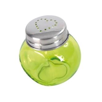 Mini bonbonnière coeur vert anis Lot de 4