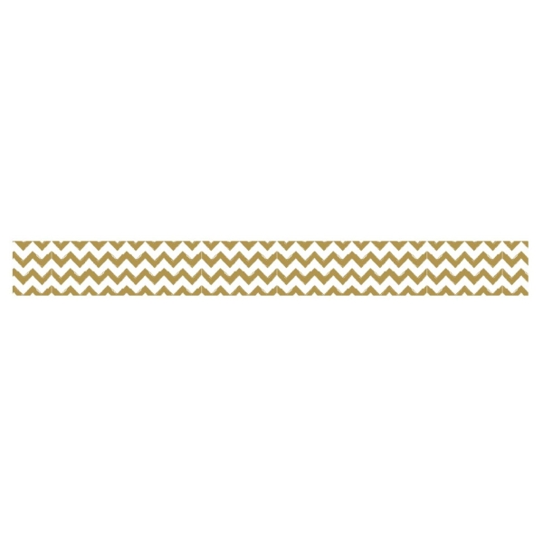Washi tape zigzag or - Photo n°1
