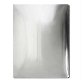Plaque aluminium incurvée 18 x 24 x 1 cm
