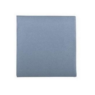 Serviette en papier bleu nordique