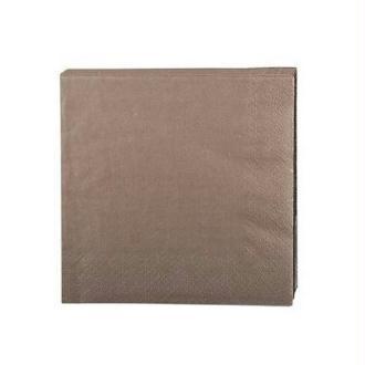 Serviette en papier taupe