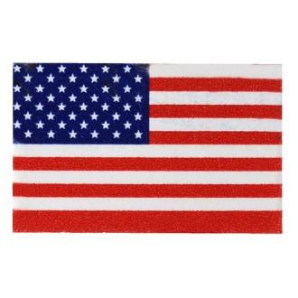 Drapeau Amérique en confettis