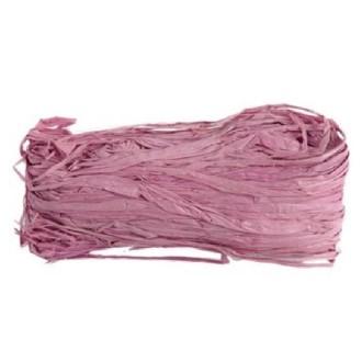 Raphia naturel teinté lilas