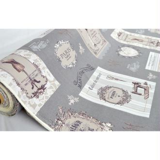 Tissu en coton bachette coll. Couture laize 280 cm - vendu par 10 cm