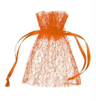 Sachet dentelle orange