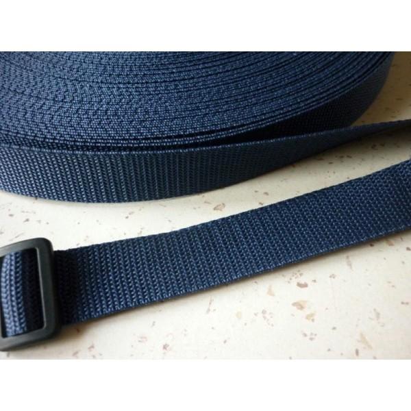 Bleu Marine 25 mm Lot de 2 Clips Fermeture pour Sangle Polypropylene