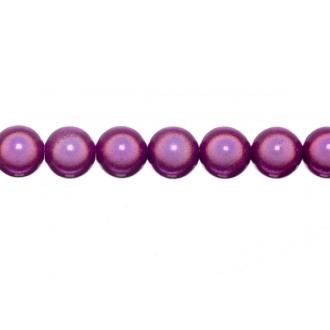 10x perles Magiques Rondes 6mm VIOLET