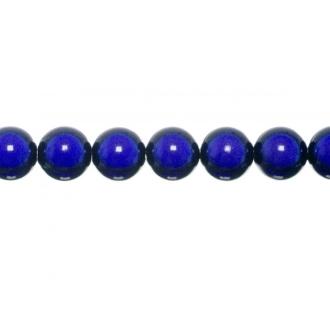 10x perles Magiques Rondes 4mm BLEU MARINE