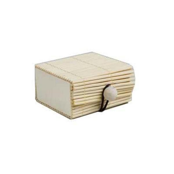 Mini boite vénitienne ivoire x2 lot de 2 - Photo n°1