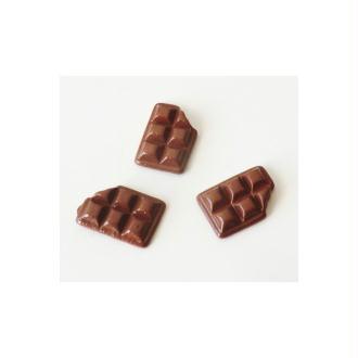 Cabochon Tablette Chocolat 10mm LAIT