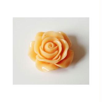 1x Cabochon Rose 30mm PÊCHE