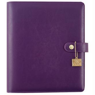 Planner simple stories carpe diem a5 24x20x4cm violet raisin vide