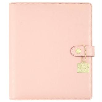 Planner simple stories carpe diem a5 24x20x4cm rose pâle vide