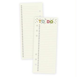 Bloc de 24 marque pages to do pour planner a5 simple stories carpe diem 21x8.5 cm multicolore