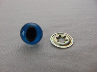 Oeil de chat bleu