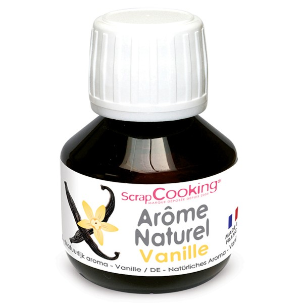Arome naturel alimentaire Vanille 50 ml - Photo n°1