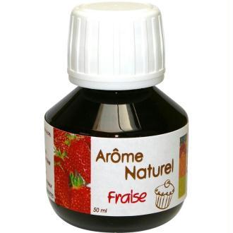 Arome naturel alimentaire Fraise 50 ml