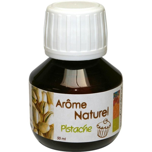 Arome naturel alimentaire Pistache 50 ml - Photo n°1