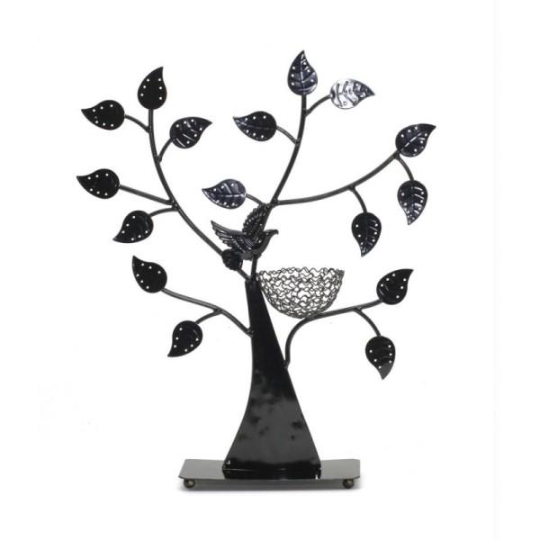 Porte bijoux arbre à boucle d'oreille oiseau (50 paires) - Photo n°2