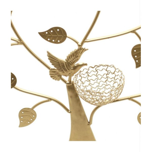 Porte bijoux arbre à boucle d'oreille oiseau (50 paires) - Photo n°4