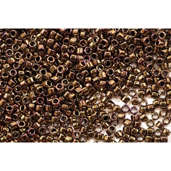 Toho Treasure 11/0 Tube 9/10gr - TT-01-501- Higher Metallic Cinnamon Bronze - Photo n°1