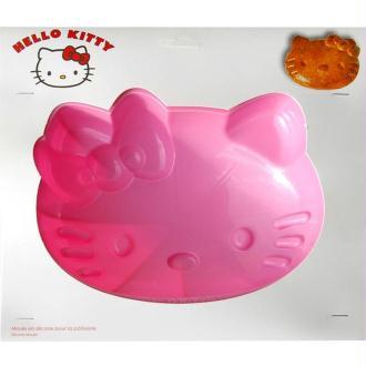 Moule à gâteau Hello Kitty en silicone 25 cm