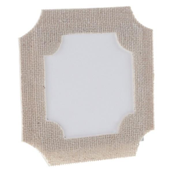 6 Marques place forme cadre de 6cm - Photo n°1