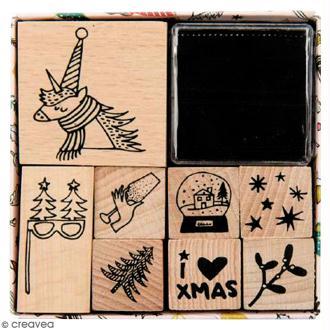 Set Tampons - Magic Christmas - 8 pcs