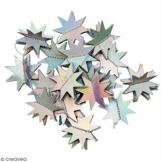Guirlande d'étoiles grises irisées Paper Poetry - 1,3 mètre