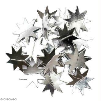 Guirlande d'étoiles argentées Paper Poetry - 1,3 mètre