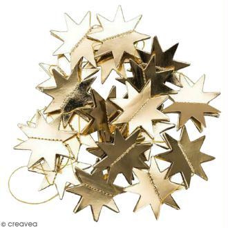 Guirlande d'étoiles dorées Paper Poetry - 1,3 mètre