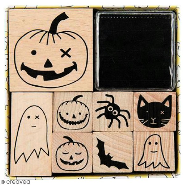Set Tampons - Halloween - 8 pcs - Photo n°1