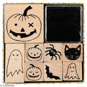 Set Tampons - Halloween - 8 pcs