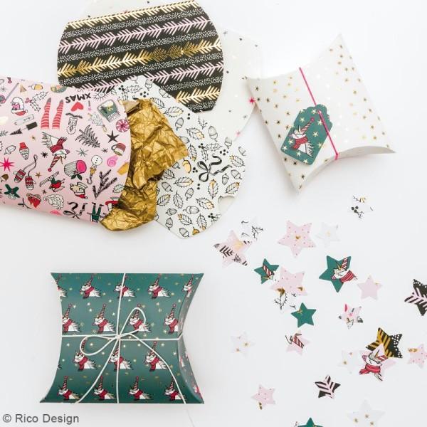 Lot de pochettes cadeaux - Noël magique - 2 tailles - 6 pcs - Photo n°2