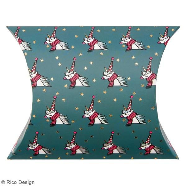 Lot de pochettes cadeaux - Noël magique - 2 tailles - 6 pcs - Photo n°3