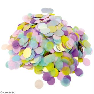 Confettis ronds Candy - Multicolore