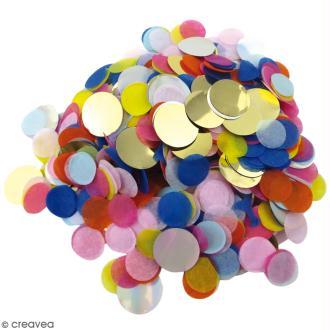 Confettis ronds Party - Multicolore