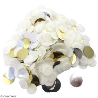 Confettis ronds Blancs