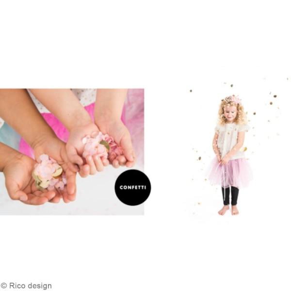 Confettis Coeurs - Rose - Photo n°2