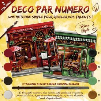 Peinture numérotée - Boutiques Parisiennes