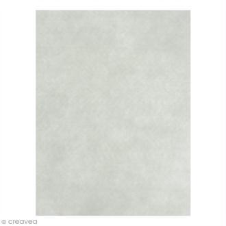 Feutrine épaisse 2 mm - 24 x 30 cm - Blanc cassé