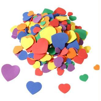 Coeurs en Feuille de mousse x 200