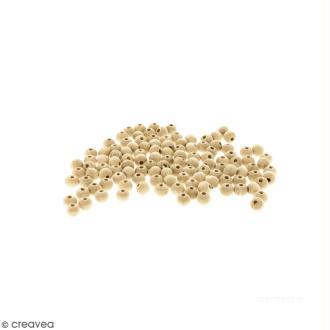 Perles rondes en bois - 5 mm - 250 pcs