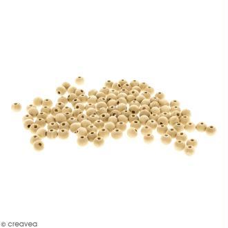 Perles rondes en bois - 8 mm - 200 pcs