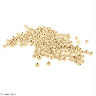 Perles rondes en bois - 10 mm - 200 pcs