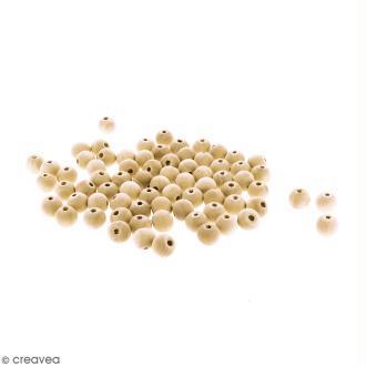 Perles rondes en bois - 12 mm - 100 pcs