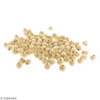 Perles rondes en bois - 16 mm - 100 pcs