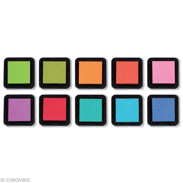 Kit 10 encreurs Stampo'colors vitamine - Photo n°2